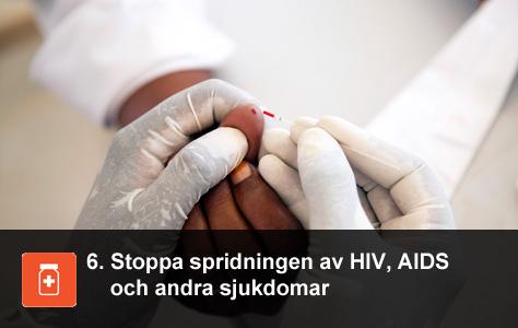 En ex-soldat i Sudan låter hiv-testa sig. UN/Photo Albert Gonzalez Farran