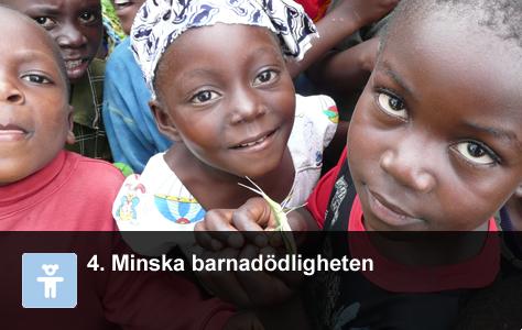Några barn från Mali. Foto: WordPress