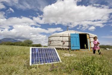 Att alla människor har tillgång till ren energi är en förutsättning för en hållbar utveckling i världen. UN/Photo Milton Grant.