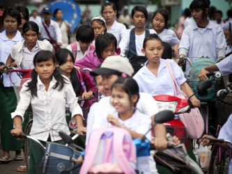 Idag släpps FN:s årliga statusrapport om millenniemålen. UN/Photo: Kibae Park