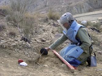 Idag är Jordanien äntligen minfritt - tack vare ett lyckat miniröjningsprogram. UN/Photo UNMACA