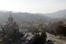 Utsikt över staden Tbilisi i Georgien. Foto: UN Photo, Mark Garten.