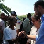 UNDP Goodwill Ambassador, HRH Crown Prince Haakon of Norway visits Haiti. Photo: UNDP Haiti