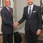 UNDP Goodwill Ambassador, HRH Crown Prince Haakon of Norway visits Haiti5. Photo: UNDP Haiti