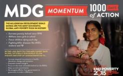 MDG Momentum: 1000 dagar kvar att nå millenniemålen.