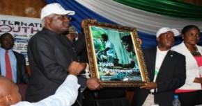 President Ernest Bai Koroma (Foto:UNDP/ C. Thomas)
