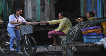 Gemensamt sparande i Kambodja FOTO: UNDP Kambodja