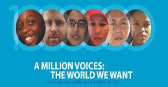 A Million Voices - The World We Want