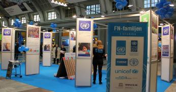 FN-dagen 2013 FOTO: UNDP Sverige