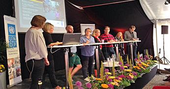 Post-2015 debatt i Almedalen