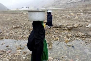 afghanistan water